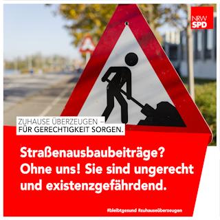 Straßenausbau-Beiträge abschaffen